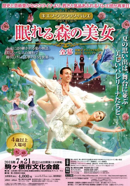 キエフ・クラシック・バレエ 眠れる森の美女 全幕
